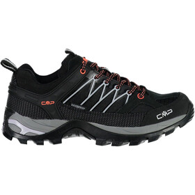 CMP Campagnolo Rigel WP Chaussures de trekking basses Femme, nero-ghiaccio
